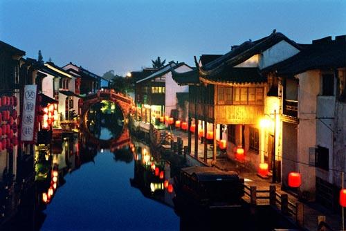 苏州山塘街新貌图片