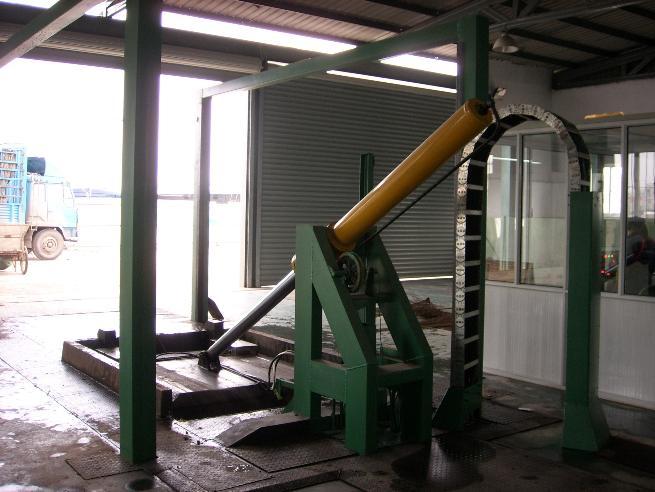 南环桥液压垃圾压缩中转站投入使用图片